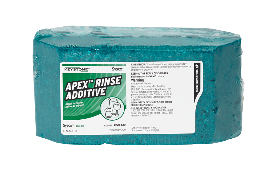 Keystone Apex Rinse Additive
