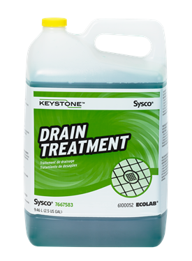Keystone Drain Treatment