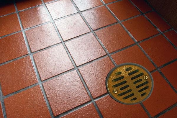 clean tile floor treatment for bathroom floor | Keystone Drain Treatment
