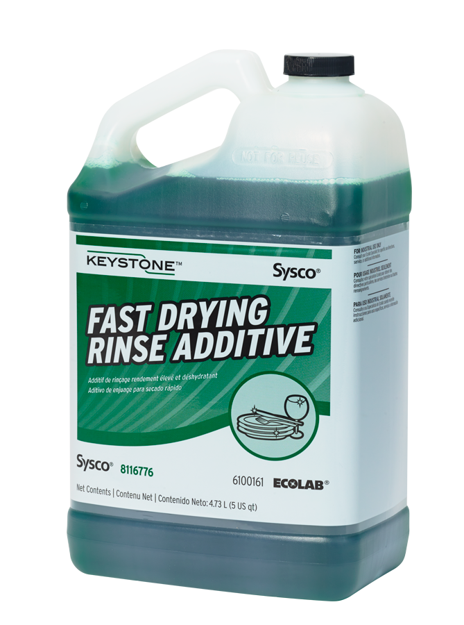 Keystone Fast Drying Rinse Additive