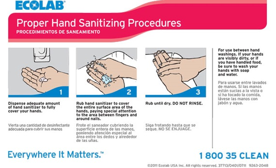 Keystone Foam Hand Sanitizer Manual