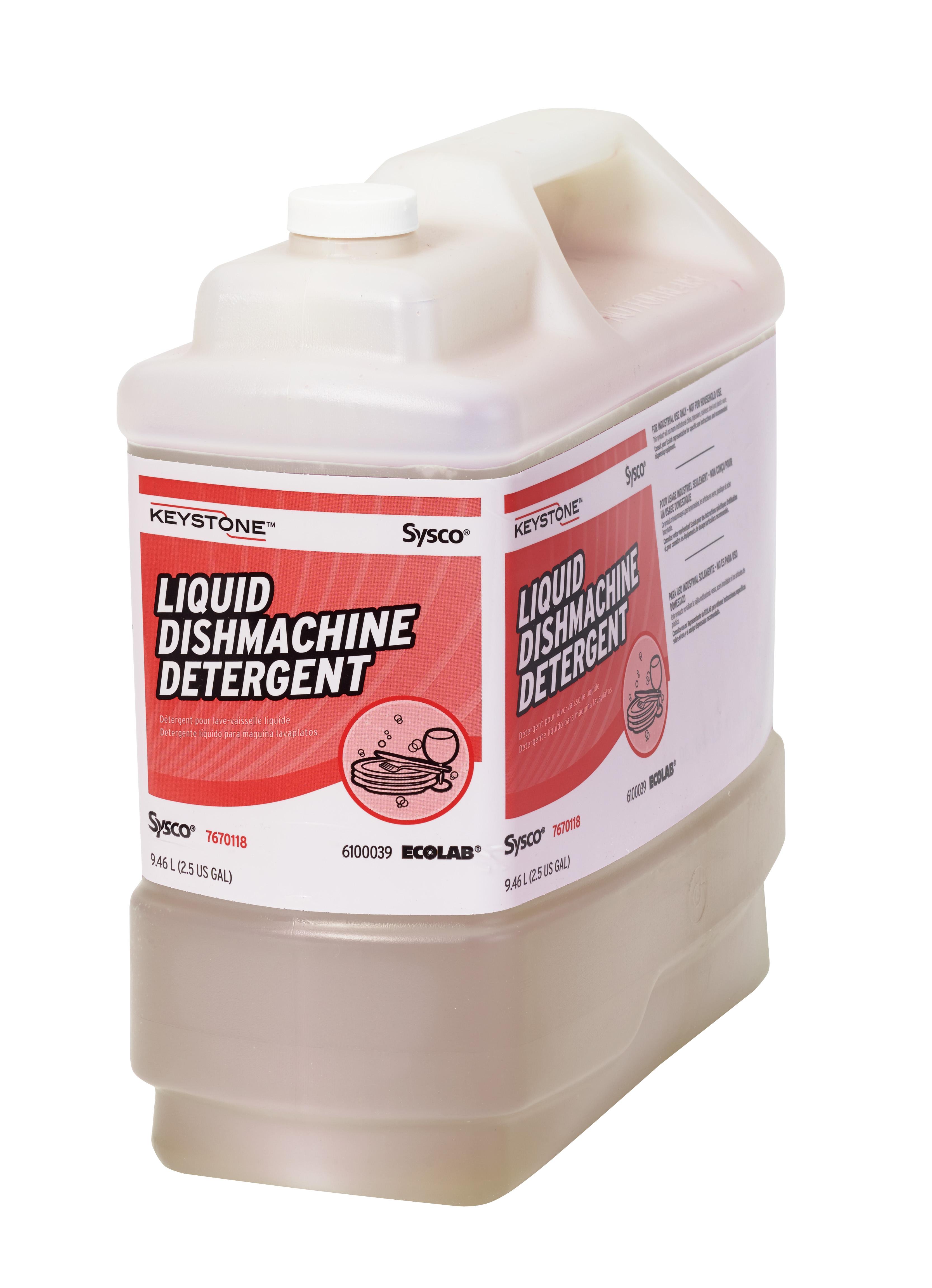 Keystone Liquid Dishmachine Detergent