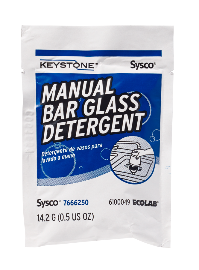 Keystone Manual Bar Glass Detergent