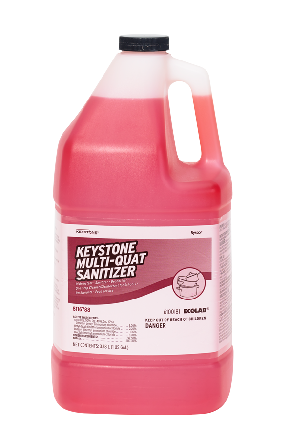 Keystone Multi Quat Sanitizer
