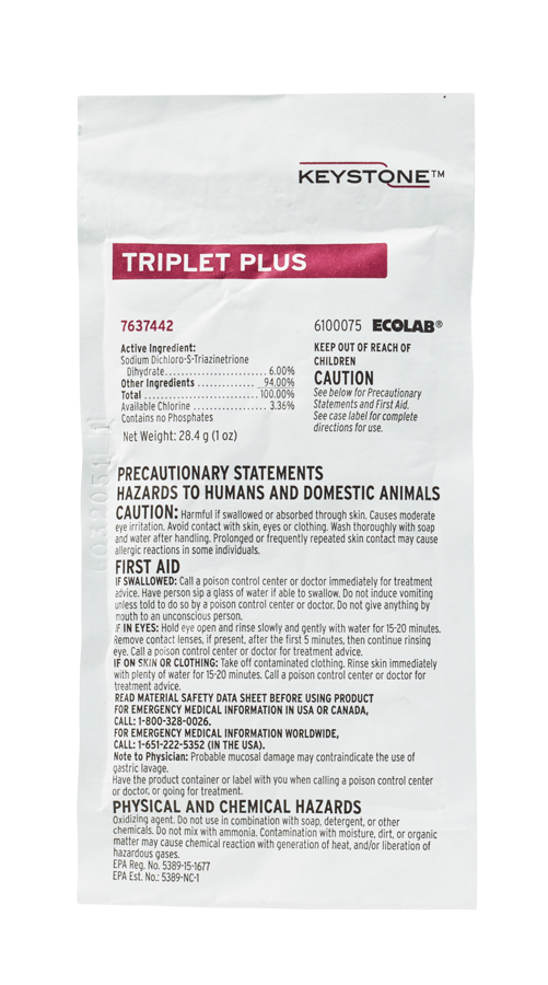 Keystone Triplet Plus