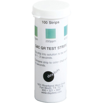 Sanitizer Test Strips 1 Second Quat