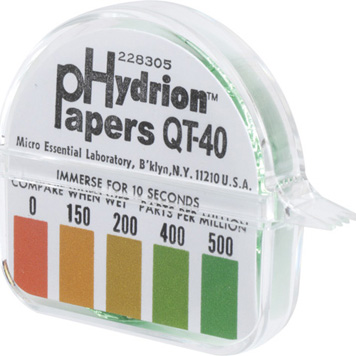 Sanitizer Test Strips QT 40