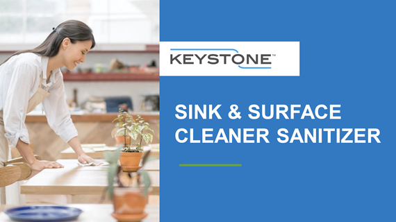 Keystone Sink and Surface Cleaner Sanitizer Overview